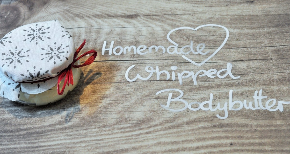 Homemade Whipped Bodybutter - zart schmelzende Körperbutter - selbstgemacht [DIY]