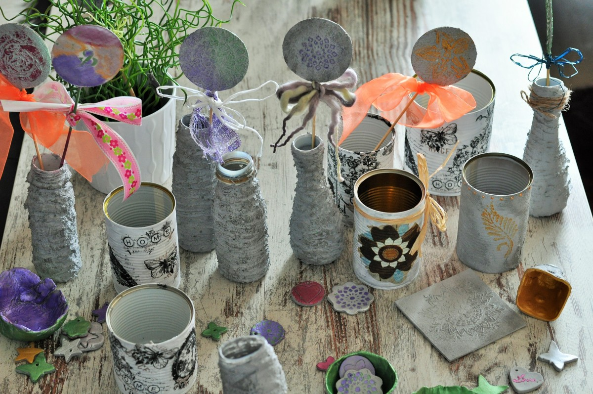 DIY-Workshop: Beton meets Shabby Chic [ Gonis]
